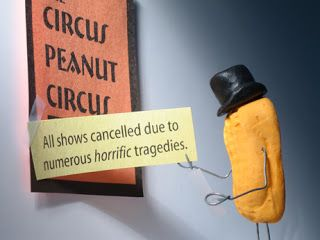 BENT OBJECTS: The Circus Peanut Circus