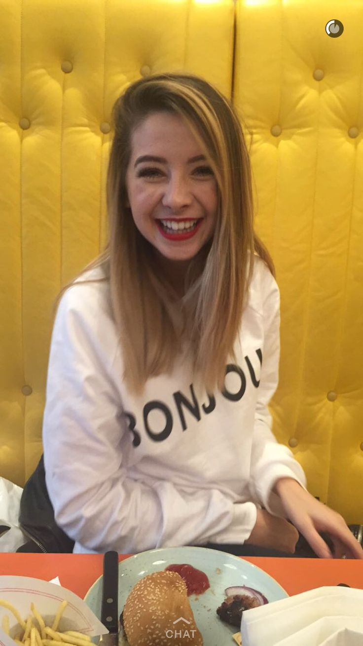 Zoella.. Her smile is so beautiful though it just makes me happy too