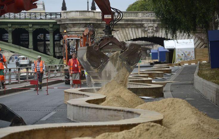 INTERACTIF. Paris-plages : du sable oui mais écolo !