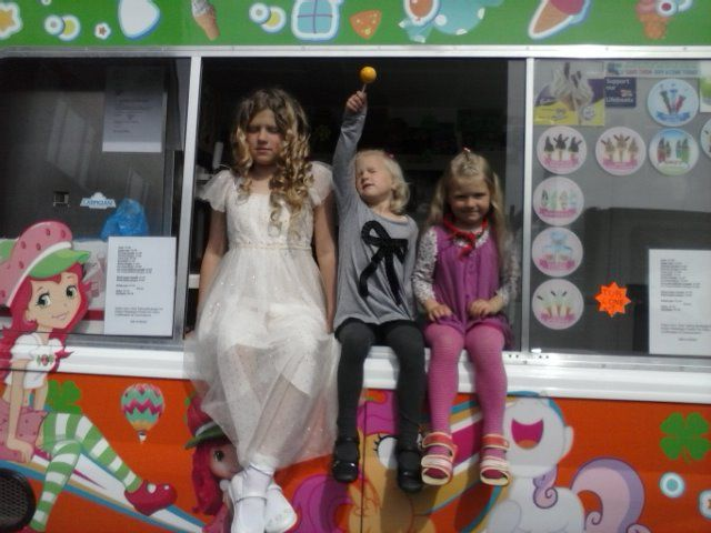 HAVE a ride in ICE-CREAM van