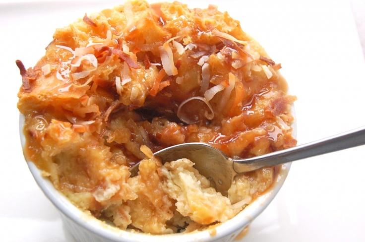 Coconut bread pudding | Bread Pudding - I LOVE bread pudding! | Pinte ...