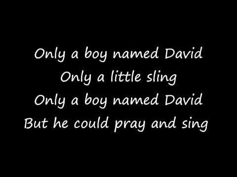 Only A Boy Named David with lyrics - The London Fox Players - YouTube
