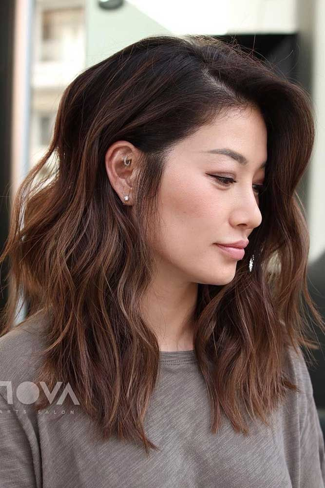 35 Iconic And Contemporary Asian Hairstyles To Try Out Now Medium Hair Styles Asian Hair Medium Length Hair Styles