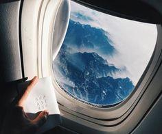 Pinterest: Maria Barroso plane window