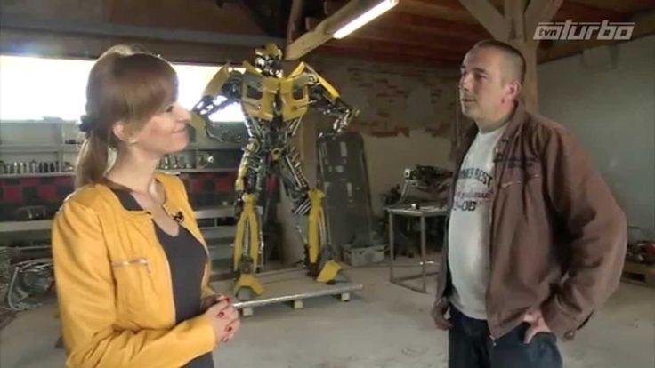 Robot ze złomu