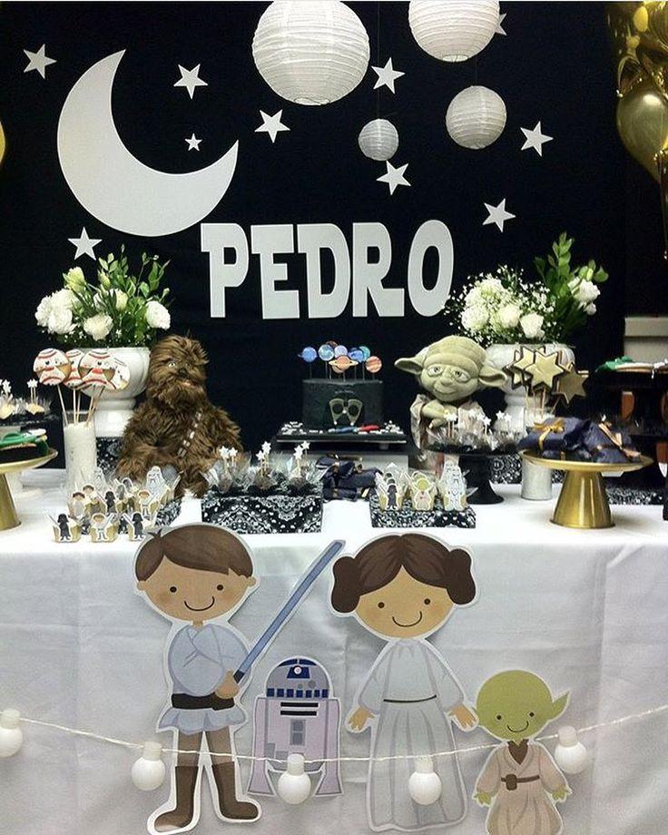 "865 Likes, 46 Comments - Kikids Party by Kiki Pupo (@kikidsparty) on Instagram: ""Star Wars muito fofa por @fofuricespituca ✨⭐️✨ #kikidsparty"""