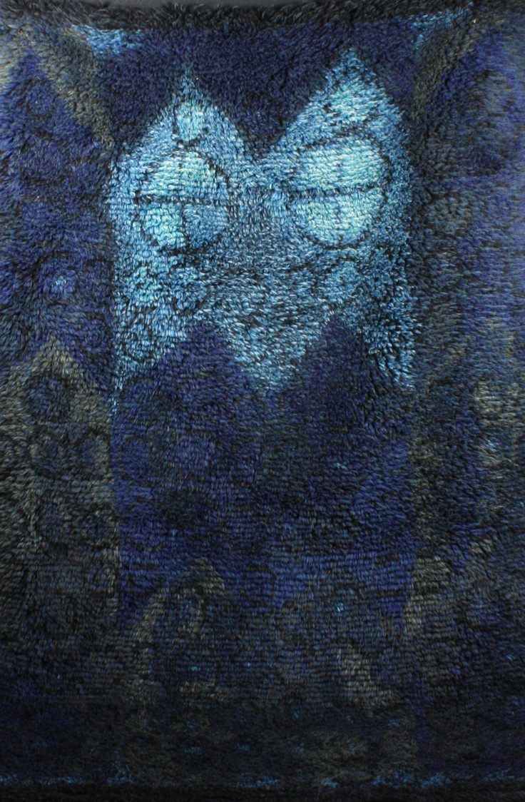 Kirsti Ilvessalo, Wool Rug, 1964.
