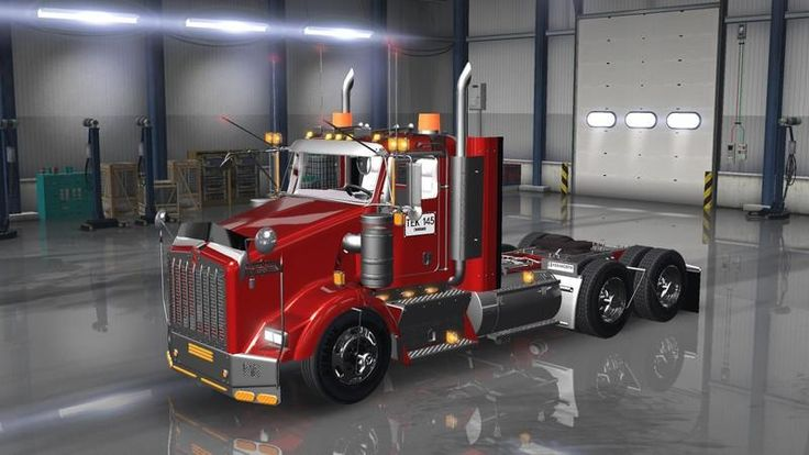 KENWORTH T800 COLOMBIA TRUCK - American Truck Simulator mod | ATS mod