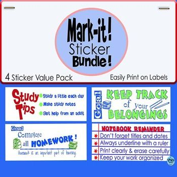 Stickers for classroom management bundle you saveprint on labels