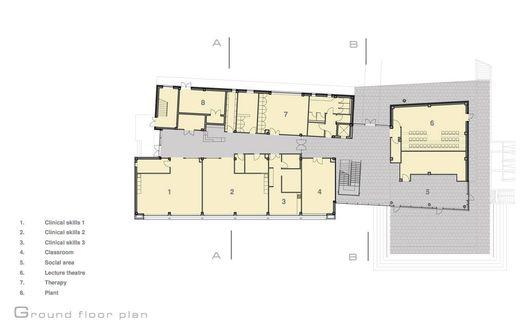 School Of Nursing For St Angelas College,plan