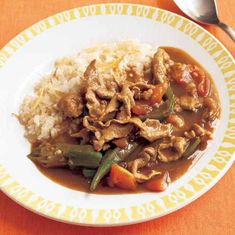ダブルしょうがの夏野菜カレー | 牧野直子さんのカレーの料理レシピ | プロの簡単料理レシピはレタスクラブネット