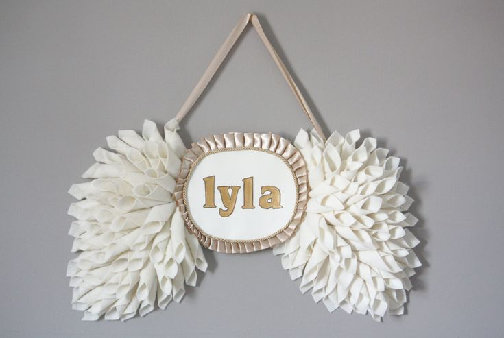 Personalized Wings from Etsy - Perfect #nursery #decor!!Wall Decor, Nurseries Wall, Angel Wings, Custom Angels, Chic Wall, Nursery Walls, Babyroom Girlsroom, Angelwings, Angels Wings