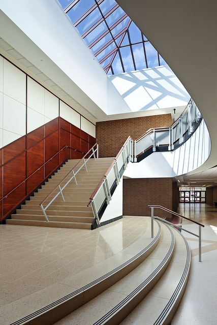 Moon Area High School Stairwell by Nello Construction Company, via Flickr