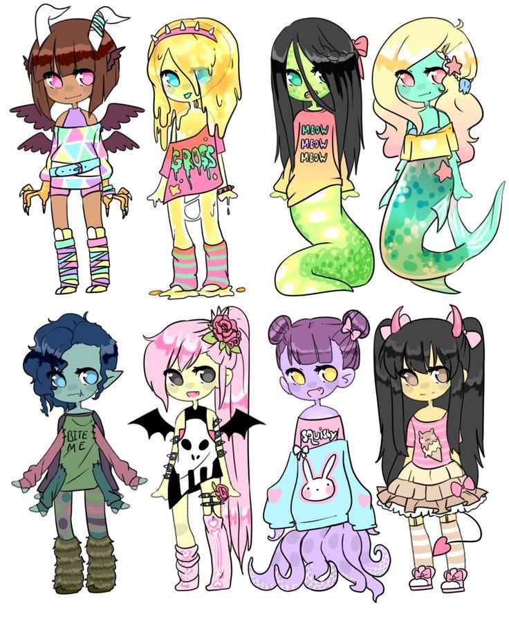 [CLOSED] Auction || Monster Girl Challenge 1 by Tenshilove.deviantart.com on @DeviantArt