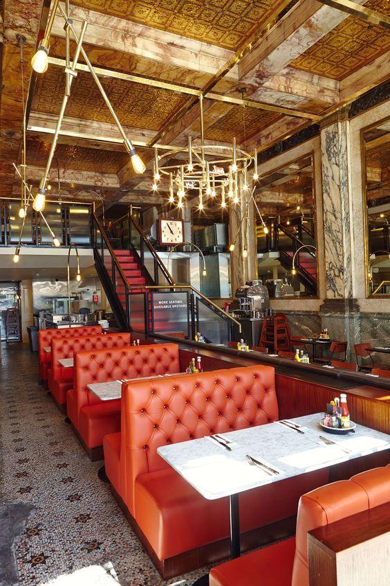 Byron Restaurant, Strand, UK by Michaelis Boyd