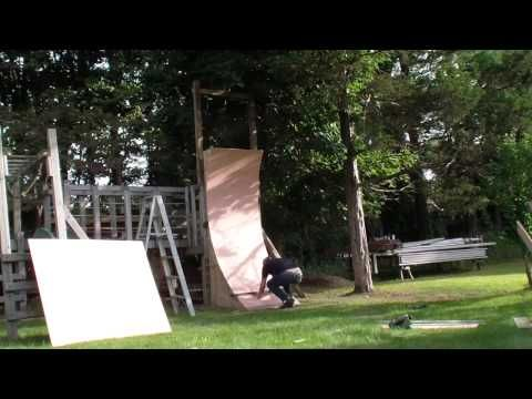 Perfect Kids Warped Wall - measurements in the comment section