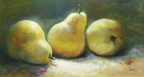 Fernando Palma (Brazil, born 1948)  'Pear Trio'