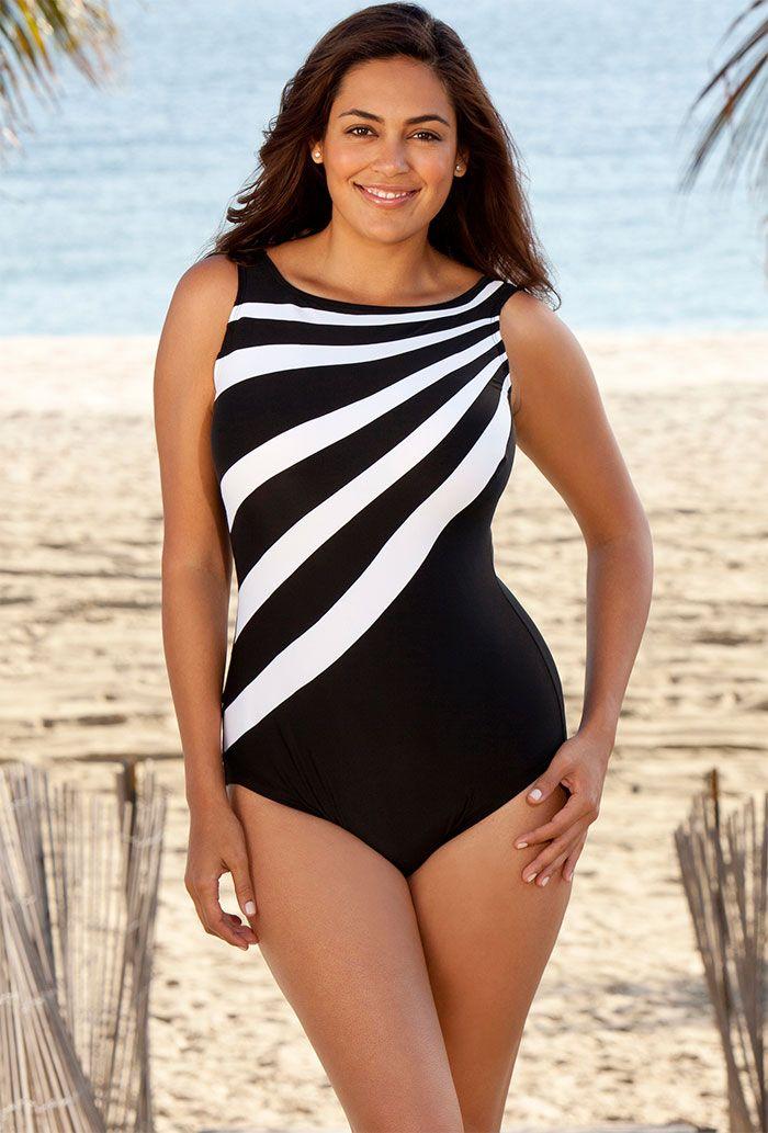 20 best swim suits images on pinterest | plus size swimsuits