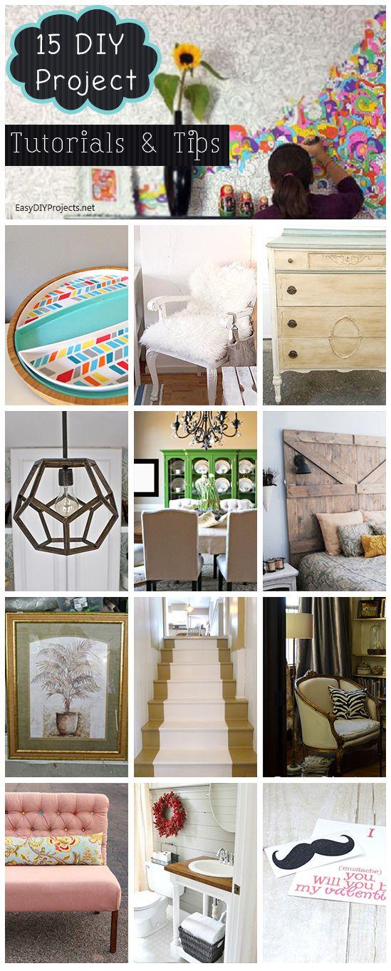 15 DIY Project Tutorials