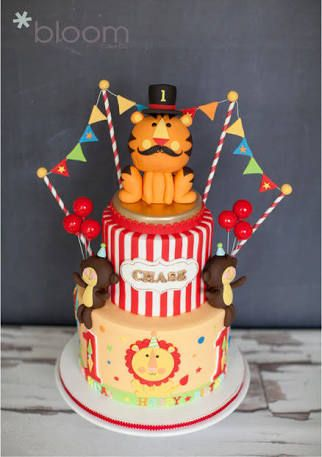 87 best CircusCarnival Cakes images on Pinterest Circus party