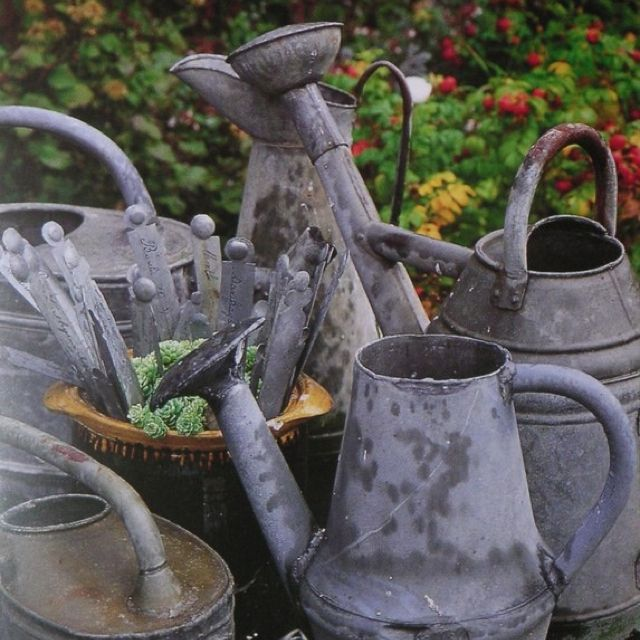 zinc watering cans – Everything is ZINC