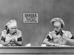 #Lucy #Desi #TV #Series 1950s #Lucille #Ball #Desi #Arnez I Love Lucy Most popular TV show in world of tv sitcoms. #Comedies #Photography #Iconic #Stills #Candy #Factory