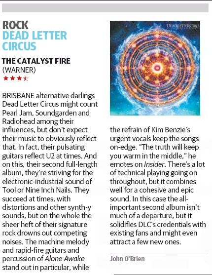 Courier Mail - September Review