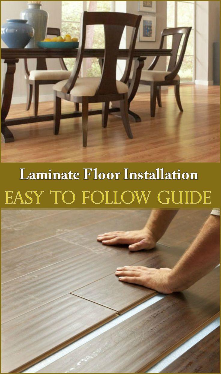 DIY Laminate Floor Installation Guide in 2020 | Laminate ...