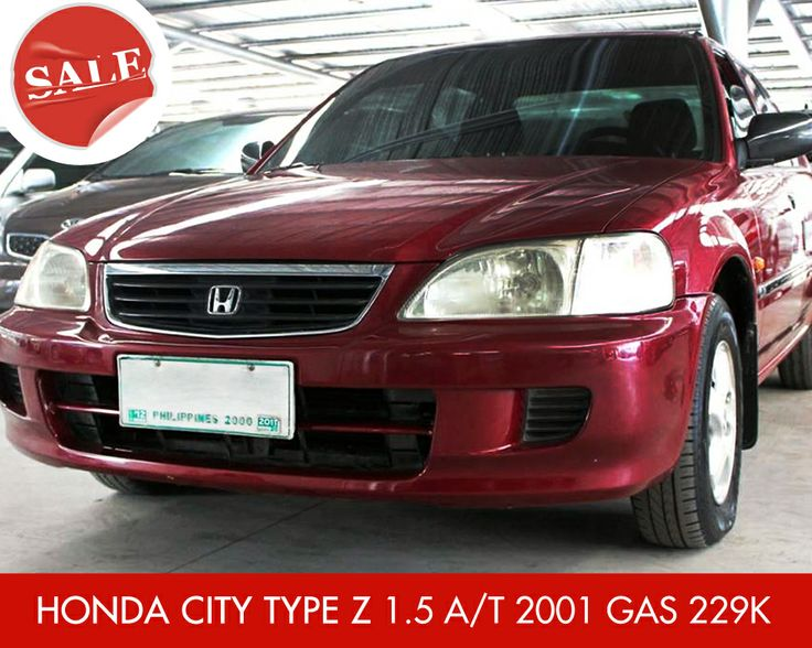 For Sale: HONDA CITY TYPE Z 1.5 A/T 2001 Gas 229K