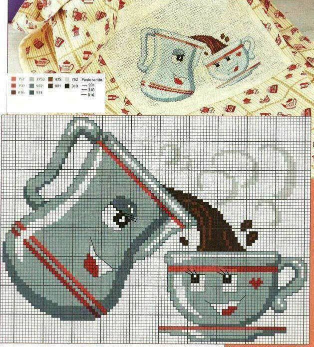 Cross Stitch *♥* cuisine - kitchen