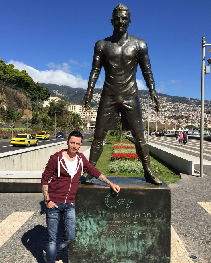 Meet and greet with CR7 in Funchal