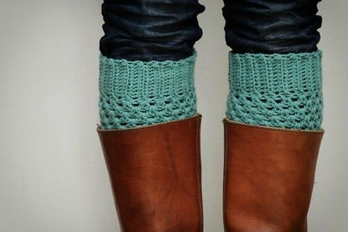 Legs Warmers, Fashion, Mint Green, Pastel Mint, Crochet Boot Cuffs, Crochet Boots Cuffs, Boots Socks, Boot Socks, Leg Warmers