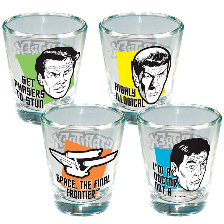 Awesome-Star-Trek-Collection-Star-Trek-Quotes-Shot-Glasses