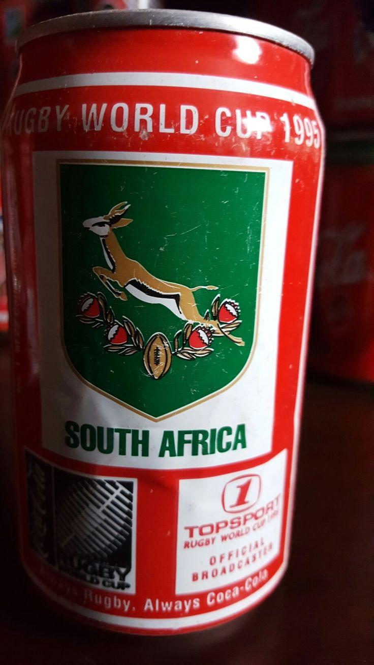 #RWC #Coke #Springboks #JCSTRAUSS #AllBlacks #1995 #winners