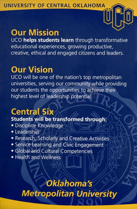 Mission, Vision, and Central 6 poster | DTP ideas ...