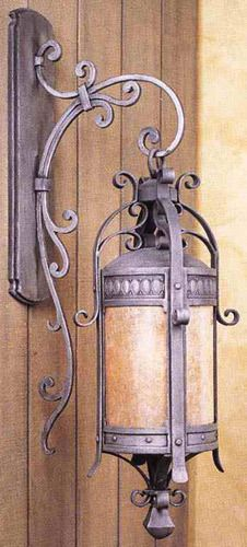 Chateau Hand-forged iron works of art. Hand-crafted by the distinguished company of Hammerton. Also available in large size