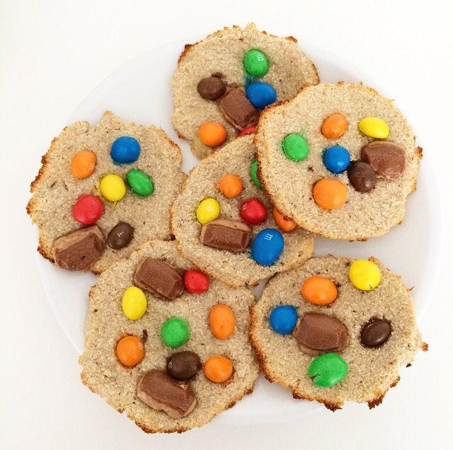 Bananen - Kokos Cookies
