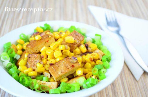 Tofu s kukuřicí