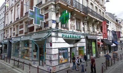Pharmacie de la d esse vue g n rale de goedkoopste van lille hoek rue esquermoise rue du - Magasin meuble lille rue esquermoise ...