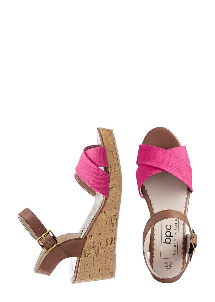 Sandály na klínku Moderní a osvěžující • 429.0 Kč • bonprix