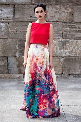 Faldas largas ¡22 Hermosos looks Juveniles! - Moda y Tendencias 2017 - 2018   SomosModa.net