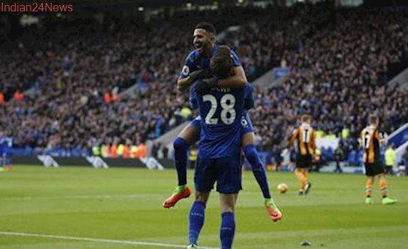 Riyad Mahrez magic leads Leicester City to 3-1 victory over Hull City