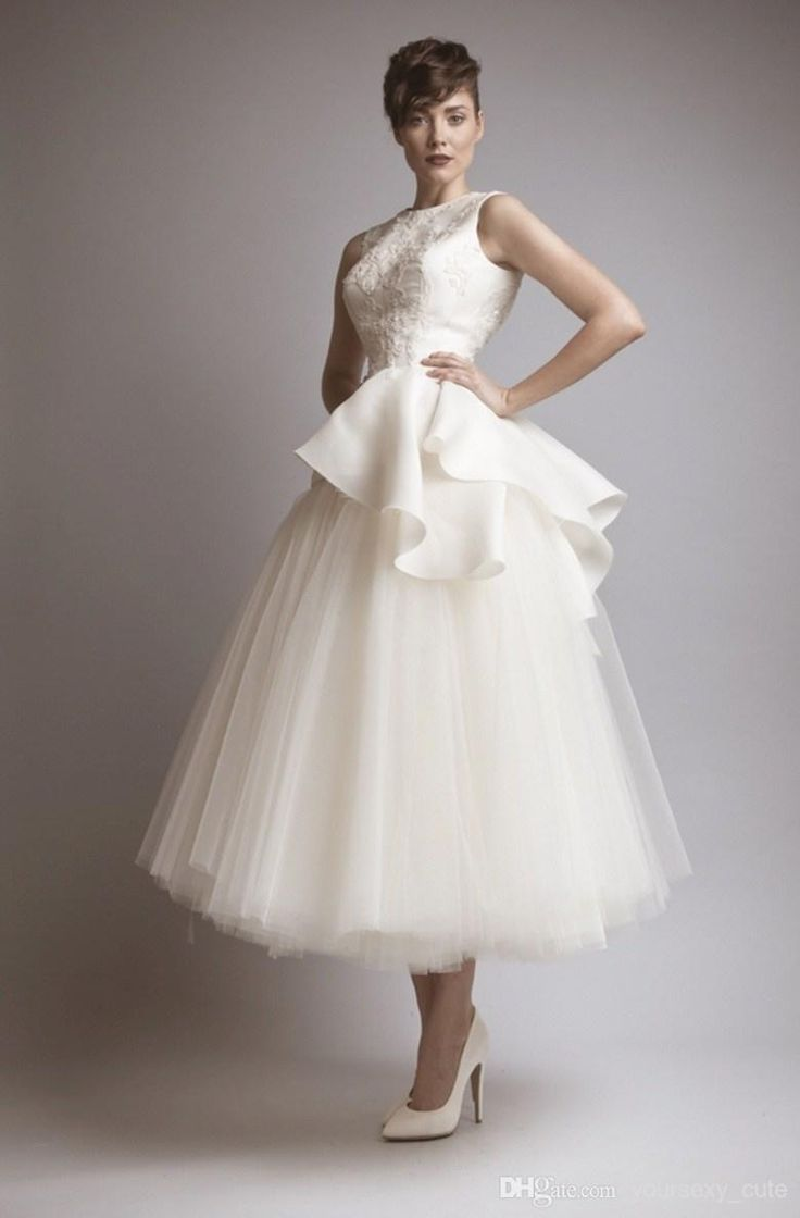 Classy wedding dress for the unconventional  bride