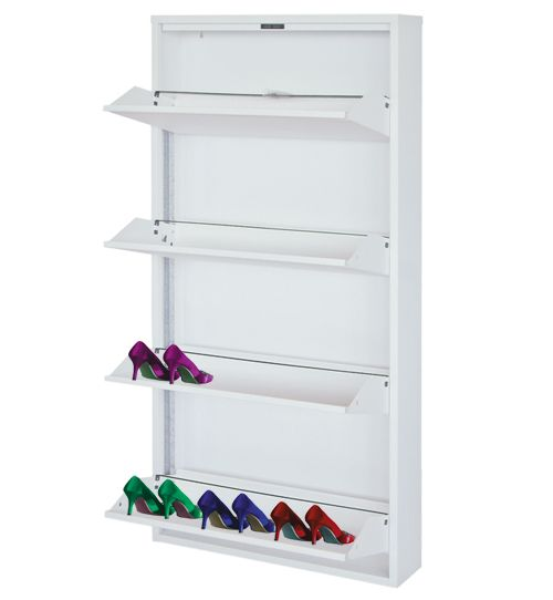 Homeart Shoe Cabinet   Clever Storage Ideas: Shoes