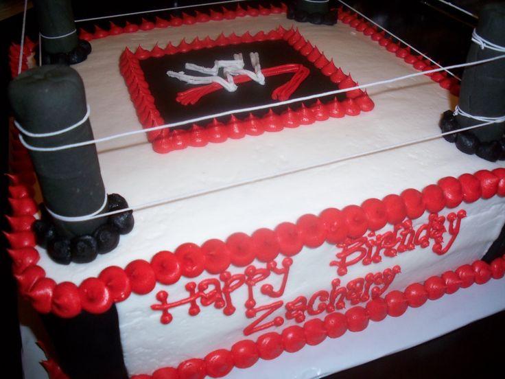 wrestling cakes | Sweet Treats by Susan: *WWE Wrestling Birthday Cake*