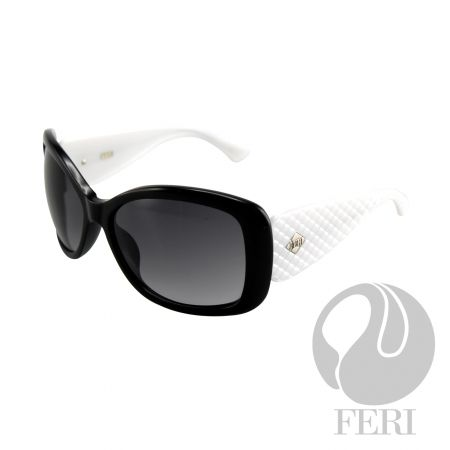 FERI Aspen - Black Shield - FERI frames are manufactured in Italy - Lenses are UV 400 and provide protection against harmful UV rays - Mazzucchelli acetate is used - Mazzucchelli is the world leader in acetate production - Acetate is a hypo allergenic plastic - Acetate is used for its shine, color depth and durability  Invest with confidence in FERI Designer Lines.