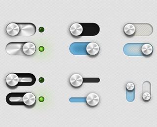 UI Kit With Random Components