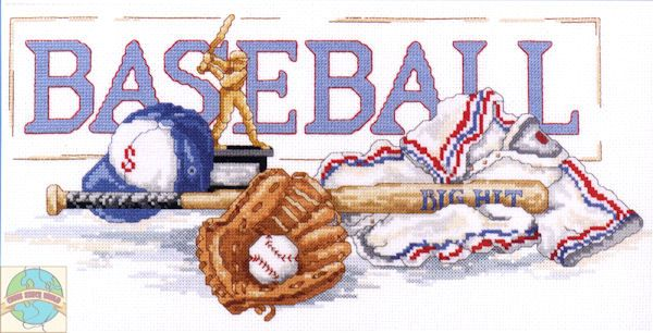 Baseball Cross Stitch | Baseball Cross Stitch Patterns – Images of Patterns..I want to do this!