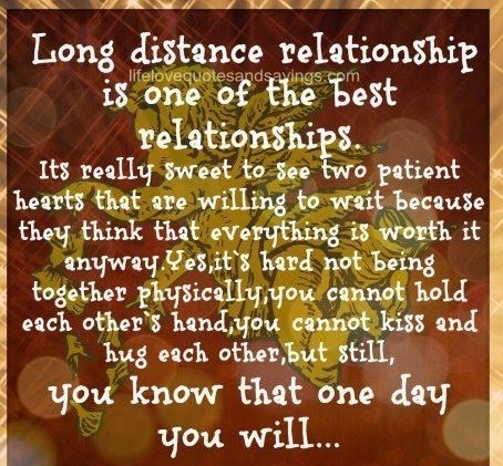 long distance relationship for two months