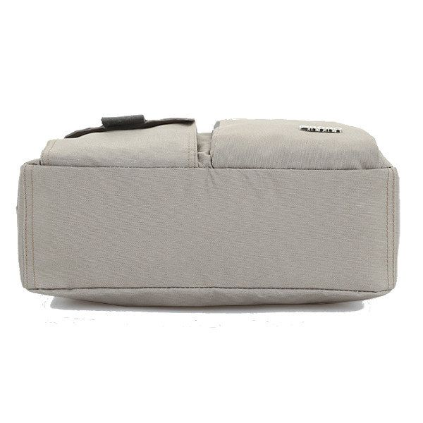 Lightweight Nylon Waterproof Messenger Bags Multi Zipper Pockets Shoulder Bags C - US$20.99